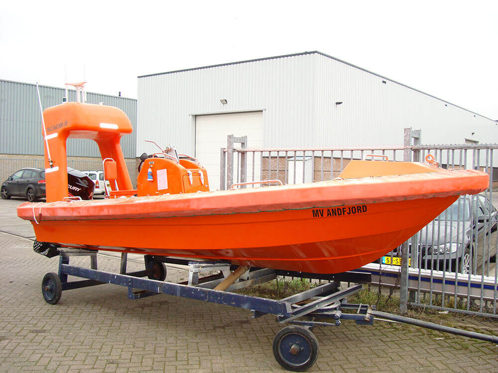 Fast Rescue boats service and repair